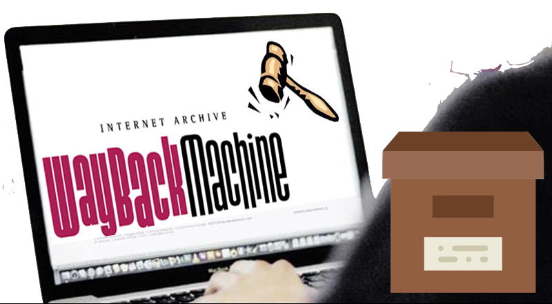 Internet Archive WayBack Machine